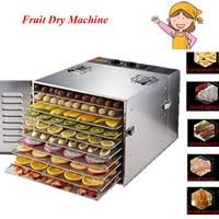EU UK US Plug Food Dehydrator Fruit Vegetable Herb Meat Drying Machine Snacks Food Dryer Fruit