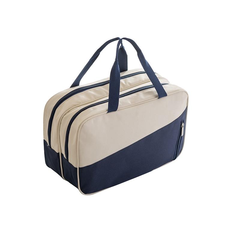 Waterproof Dry Wet Separation Travel Bag Beauty Makeup Organizer Storage Bag Travel Beach Bag Pouch