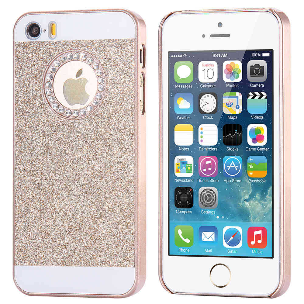 iphone 5 girl cases new fundas glitter bling back 14520