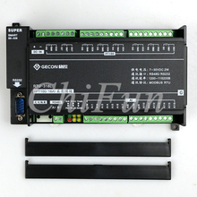8 kanal PT100 temperatur erwerb 16 weg analog eingang Modbus RTU TCP modulare modul Ethernet + RS485 + RS232(China)