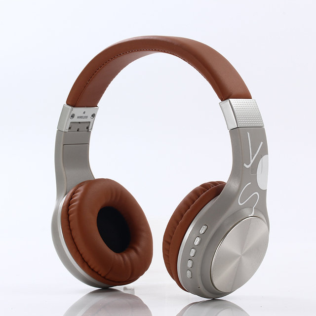 LIMSON Bluetooth Headphones Wireless Supports TF Card for Mobile Computer Tablet Heavy Bass Folding Portable Adjustable