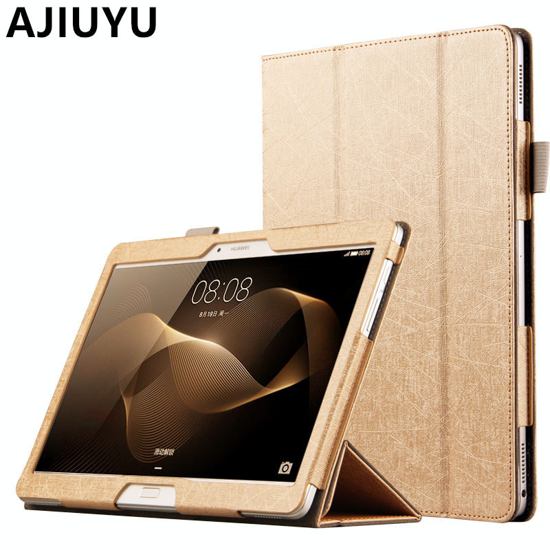 Case For Huawei MediaPad M2 10.0 Case 10.1 M2 10 Smart cover PU Leather Protective Tablet M2-A01M M2-A01L M2-A01w PU Protector image