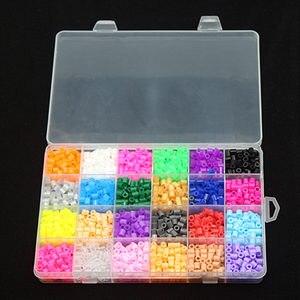 Image 2 - 5mm 24 צבע perler חרוזים ערכת, hama חרוזים עם תבניות אבזרים לילדים ילדי DIY handmaking 3D פאזל צעצועים חינוכיים