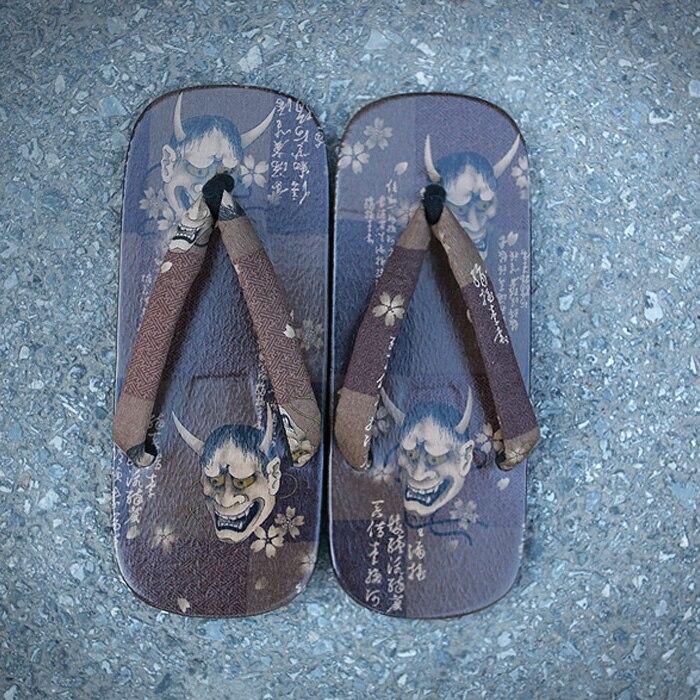 Charming 39-42 Japanese SAMURAI Clogs Wood Sandals Man Clogs Flat Wood Heel Square Toe Shoes Summer Plank Slippers Sandals wood sandals flip flops geta japanese samurai clogs wood sandals clogs shoes flat wood heel shoes summer plank slippers sandals