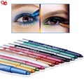 Pro Fashion 12 Colors Eyebrow Glitter Shadow EyeLiner Pencil Pen Cosmetic Makeup Set Kit Tools