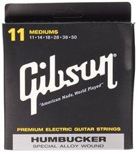 Gibson Gear SEG-SA11 Special Alloy Humbucker Electric Guitar Strings, Medium Light 011-050