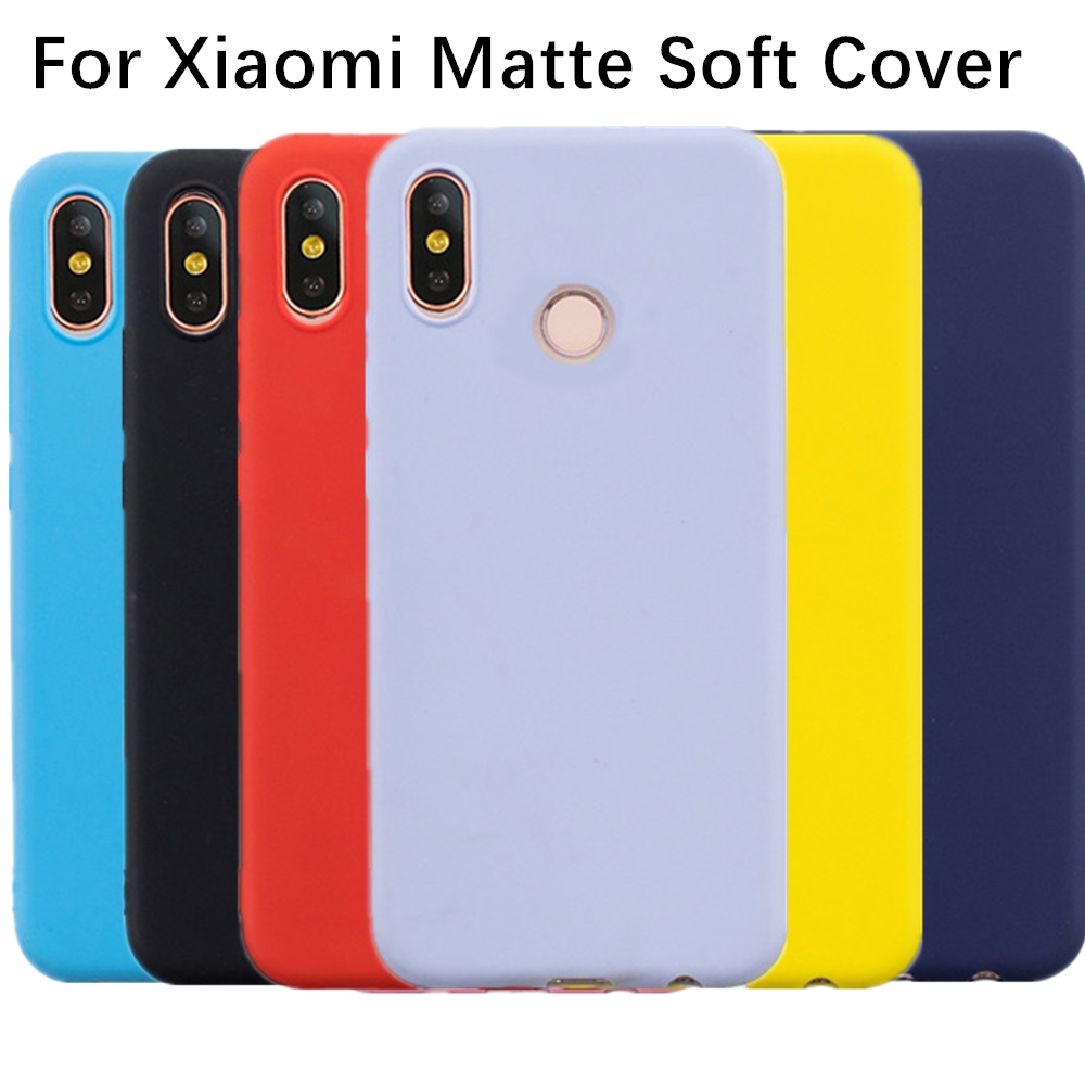 ccb41d4d49 silicone case on for xiaomi redmi note 6 pro 7 5 5a prime s2 mi 8 9 ...