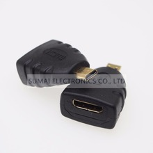 Micro to Mini HDMI Jack Connector C Female to D male HDMI Socket Adapter