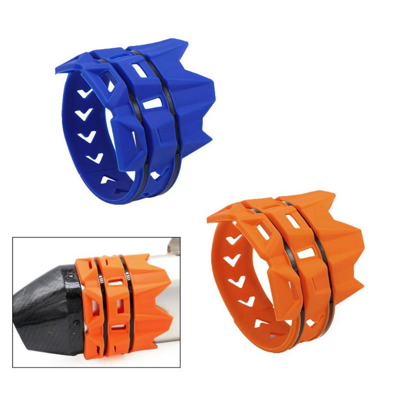 Motorcycle Exhaust Muffler Pipe Shield Protector Guard Cover For KTM EXC SX SXF 125 200 250 Motorbike Accessories image