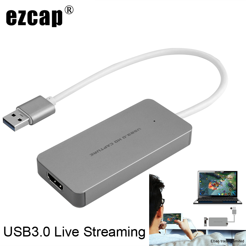 USB 3.0 TypeC Video Capture Card HDMI to USB3.0 TV BOX Camcorder Game Live Streaming Recording Dongle For PS3 PS4 XBox one Phone