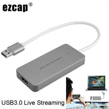 USB 3.0 TypeC Video Capture Card HDMI to USB3.0 TV BOX Camcorder Game Live Streaming Recording Dongle For PS3 PS4 XBox one Phone - DISCOUNT ITEM  18% OFF All Category