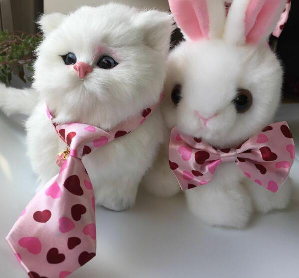 (2pc/lot) Retailed Cats And Dogs Rabbits Pet Bow Tie