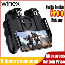 Gamepad Pubg Controller Android Joystick Mobile Game Pad Controller Handheld Game Players WinexFor IPhone Xiaomi With Cooler Fan(China)