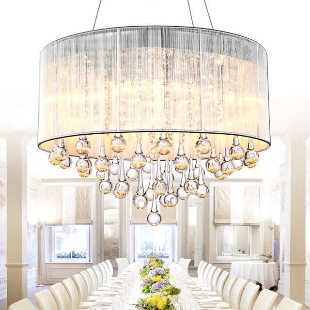 aliexpress koop moderne kristallen lamp slaapkamer eetkamer