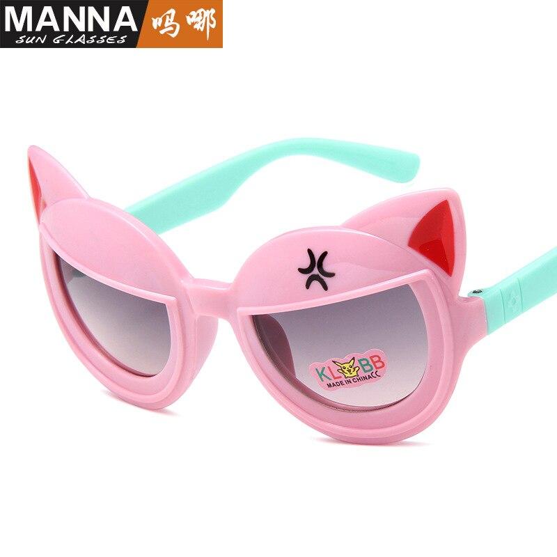 Winszenith 259 Nuovi bambini di modo Occhiali Da Sole cartoon modellismo bella bambini occhiali bambino andare fuori Gli Occhiali Da Sole