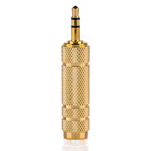 Pohiks 3.5mm 1/8 Male To 6.5mm 1/4 Female Connector High Quality Stereo Audio Adapter Gold Plated Jack Adapter Connector цена 2017