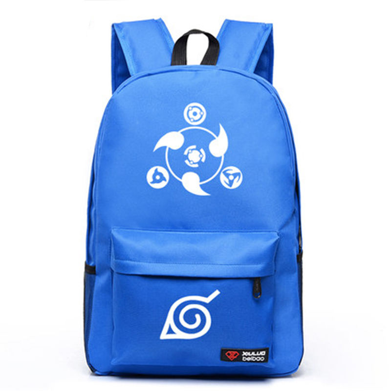 Buy Hot Selling Cartoon Naruto Casual Bag Boys Girls Schoolbags Fluorescent Backpacks Laptop Bags Free Shipping