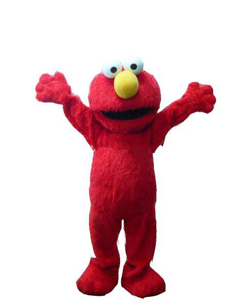 red elmo mascot costume halloween costumes chirstmas party adult size fancy dresschina - Halloween Costumes Elmo