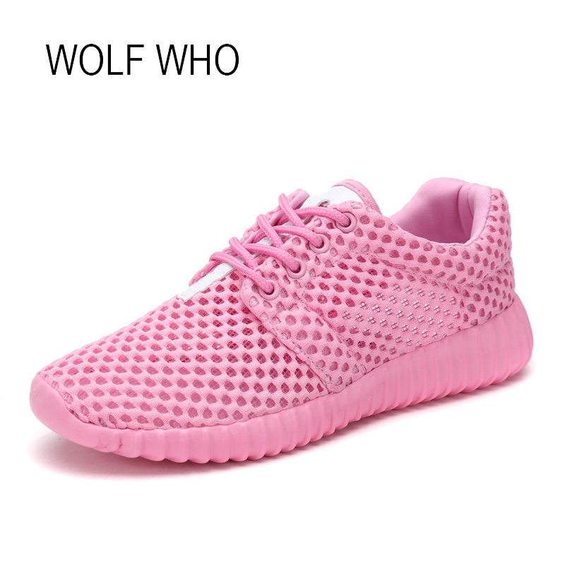 WOLF WHO 2018 Summer Women Sneakers Ladies Shoes Female Tenis Feminino Casual Basket Femme Sapatos Femininos h-302 wolf who women winter shoes fur wedge fashion sneakers women hidden heels basket femme tenis femininos casual h 152