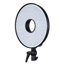 Falcon Eyes Anillo 630 LED Lámpara de Luz Regulable 3000 k-7000 K Temperatura de Color Bi-color Led Ajustable Luz de vídeo DVR-630DVC