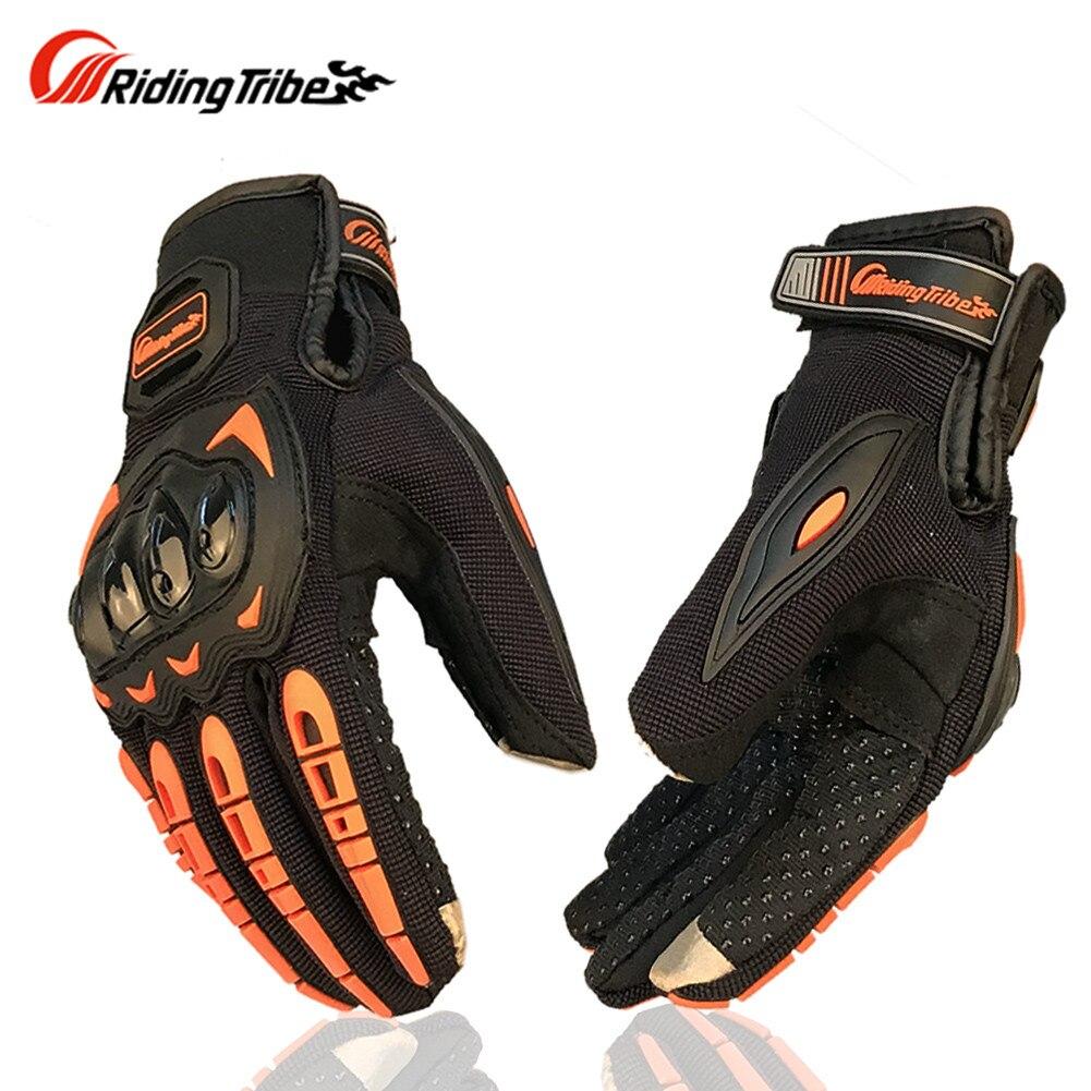 Volle Finger Motorrad Handschuhe Guantes Moto Luvas Eldiven Handschoenen Luvas da Motocicleta Bike Handschuh MCS1702 Reiten Tribe
