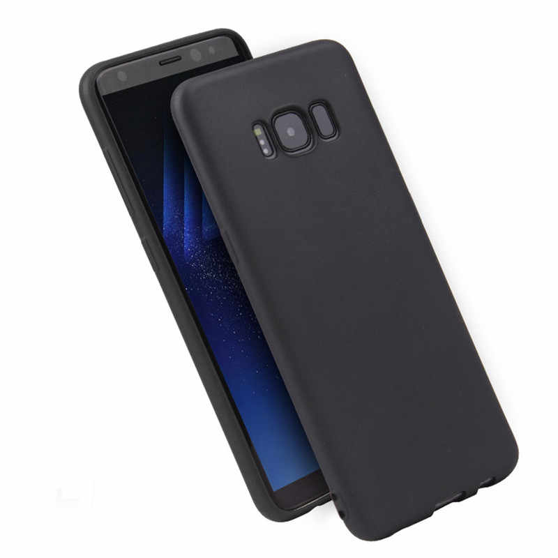 Funda trasera blanda de silicona mate TPU para Samsung Galaxy J3 J5 J7 J4 J6 J8 J2 J5 J7 Prime a3 A5 A7 A6 A9 2016, 2017 de 2018 Fundas