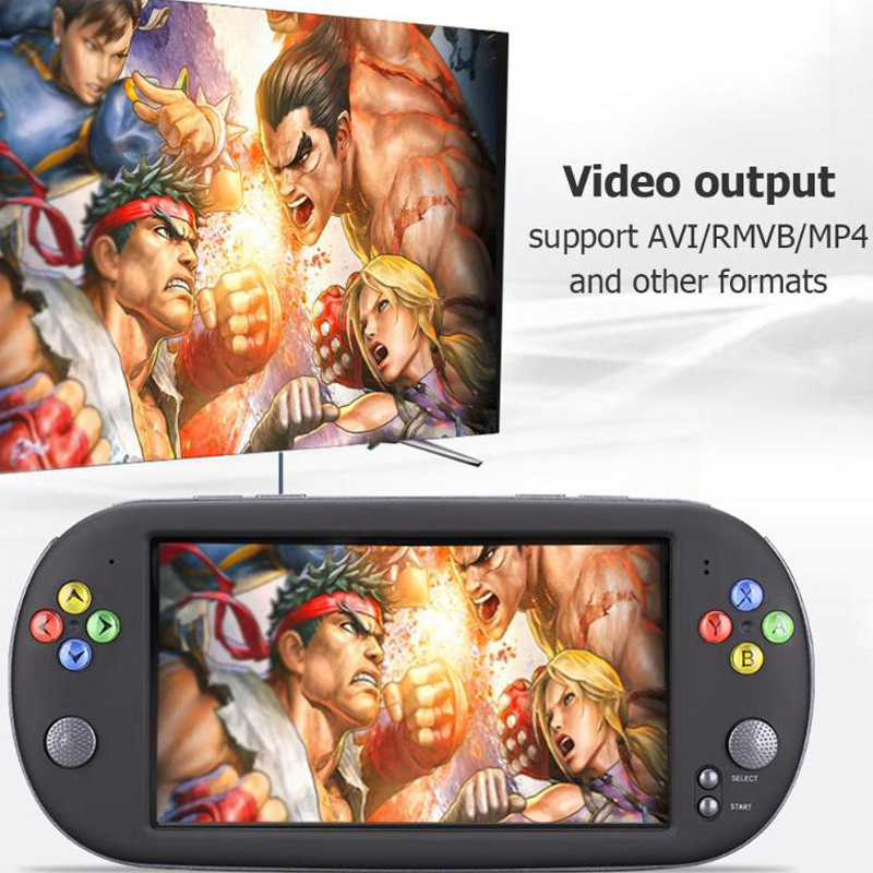 X16 7 Inch Game Console Handheld Portable 8GB Retro Classic Video Game Player for Neogeo Arcade Handheld Game Players Promotion