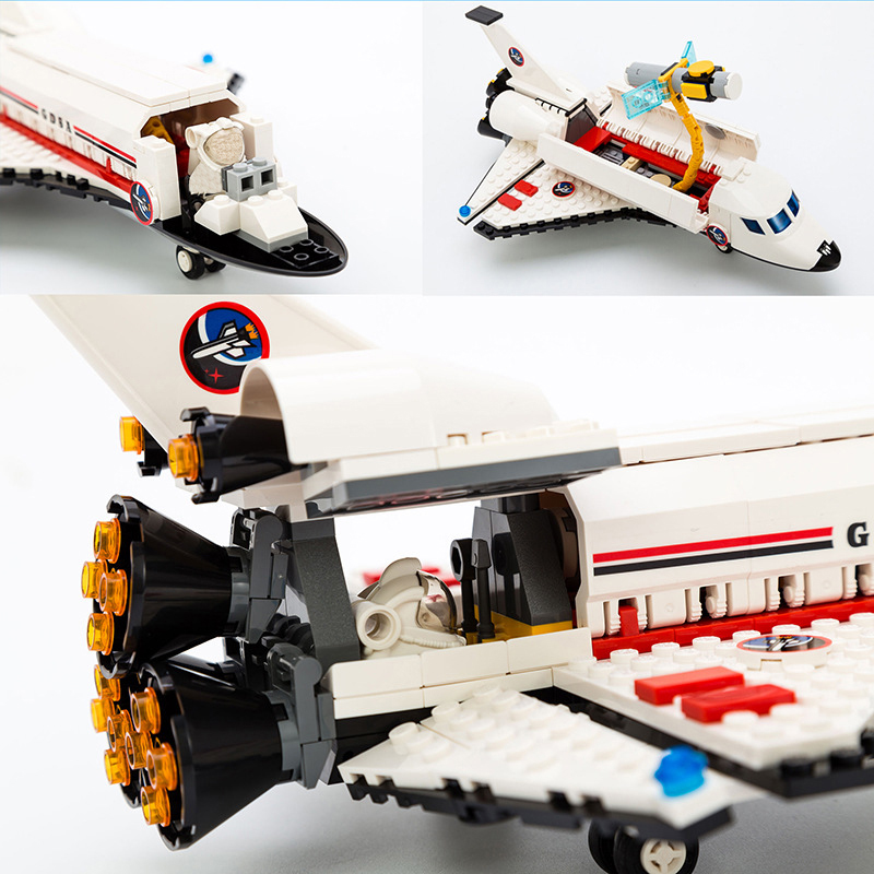City-Spaceport-Space-The-Shuttle-Launch-Center-679Pcs-Bricks-Building-Block-Educational-Toys-For-Children-Legoings (3)