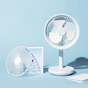 Image 5 - SOLOVE Desktop Fan 60 Degree Shaking Head 4000mAh USB Rechargeable 3 Modes Wind Speed Cooling Oscillating Fan Black/Pink