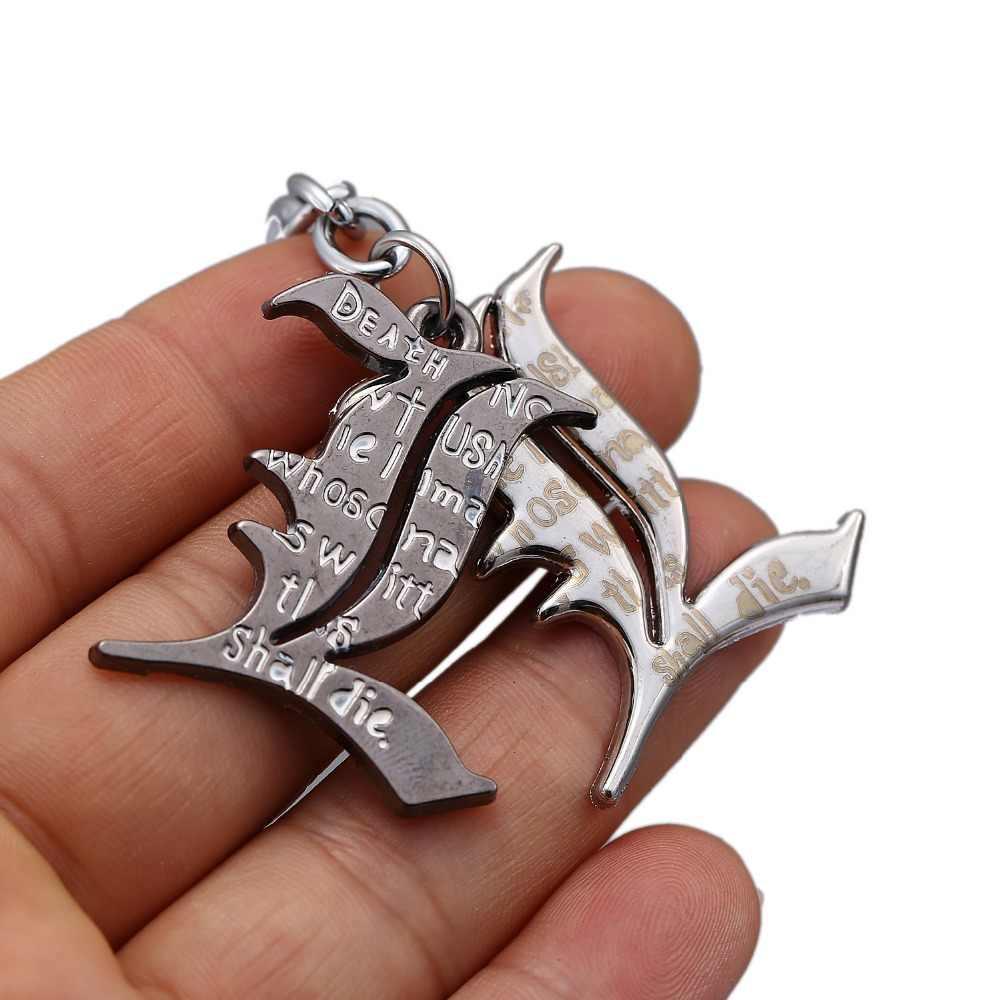 LLavero de Death Note Cadena de llaves caliente principales de anime anillo colgante Chaveiro joyería recuerdo YS10145