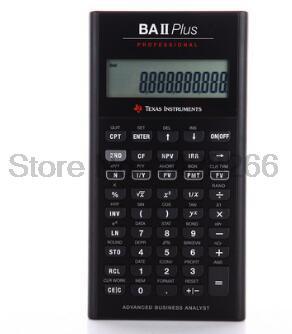 Prix pour 2016 Ti BAII Plus Professionnel CFA 10 Chiffres Led Calculatrice Calculadora Calculs Financiers Étudiants Calculatrice Financière