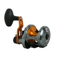 Okuma Aluminum Body Bait casting Reel 6BB Double High Speed Rod Cast Drum Reel Line Winder 6.4:1/3.8:1 Carp Fishing Wire Spooler