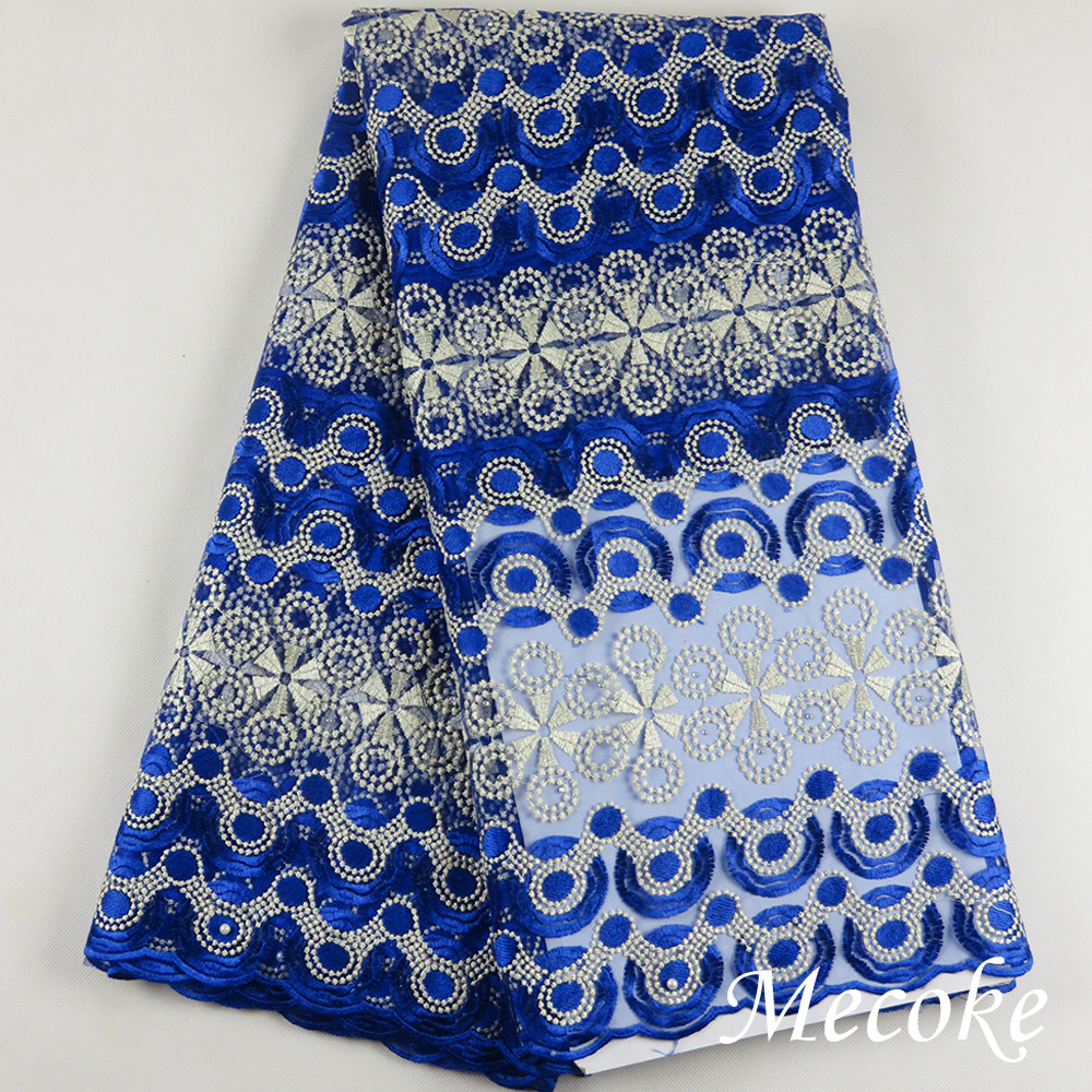 African Lace Fabric 2017 Embroidered Nigerian Laces Fabric