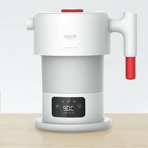 Image 2 - Hervidor eléctrico Xiaomi Deerma, tetera de agua plegable, tetera inteligente con protección de apagado automático de 0,6 l, tetera para viaje y hogar