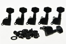 Left Handed Black Guitar Tuning Keys Lefty Tuners Machine Heads Fits for Strat TL