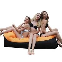 2019 New Fast Inflatable lazy sofa Outdoor sleeping bag air sofa bed Beach Sofa Lazy bag portable folding Beach Bed Laybag
