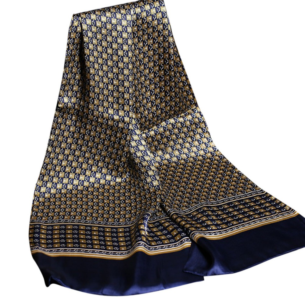 Luxury Brand Silk Scarf for Men Business Casual Royal Paisley Foulard Printing Cachecol Vintage England Jacquard Scarves Muffler chifres malevola png