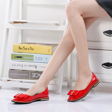 Genuine Leather Flats Ladies Shoes High Quality Shoes For Women Top Casual Work Loafers Shoes