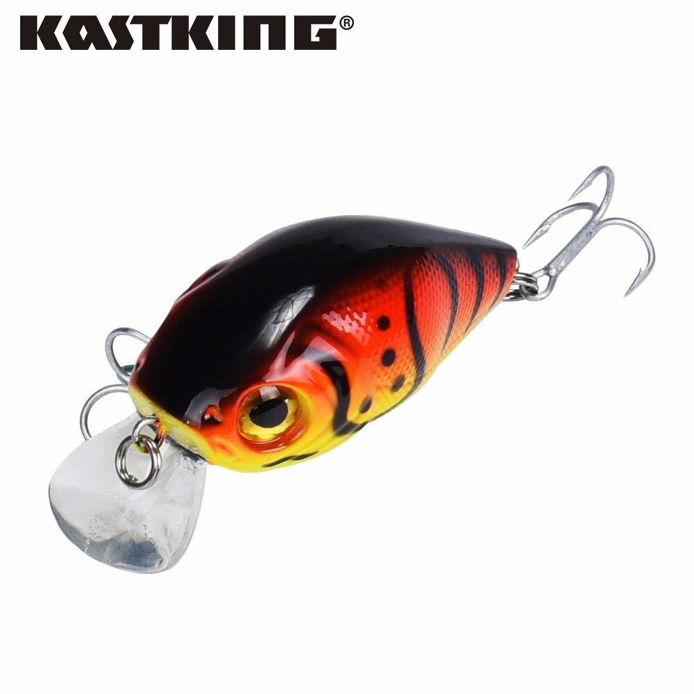 Kastking 2017 new super precio lure1pc aparejos de pesca ojos 3d pesca manivela