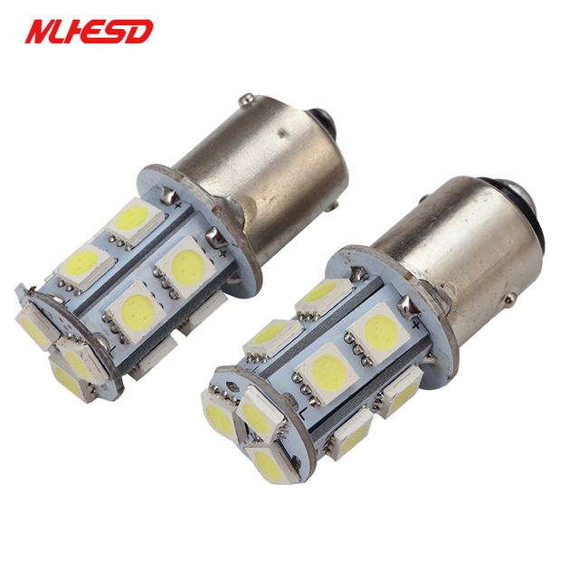 aliexpress com buy 100x 1156 ba15s 1157 bay15d p21w ba15d 13led100x 1156 ba15s 1157 bay15d p21w ba15d 13led 5050 car led turn parking signal lights brake tail lamps auto rear reverse dc 12v