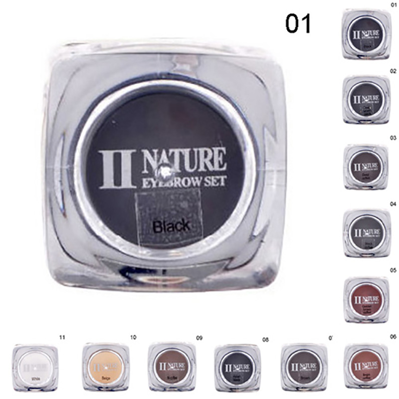 11 Colors Professional Eyebrow Micro Tattoo Ink Lips Microblading Permanent Makeup Pigment Colors Set inks Make up Cosmetics