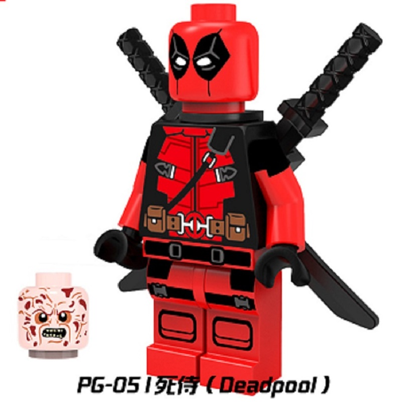 Pg051 Armed Deadpool Baron Zemo Spider Gwen Moon Knight Figure Super Hero Building Blocks Model Best Education For Children Toys Suitable For Men And Women Of All Ages In All Seasons Toys & Hobbies