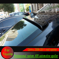 ABS material Camry Car Rear Wing primer color Rear window top Spoiler for Toyota Camry 2006 2007 2008 2009 2010 2011