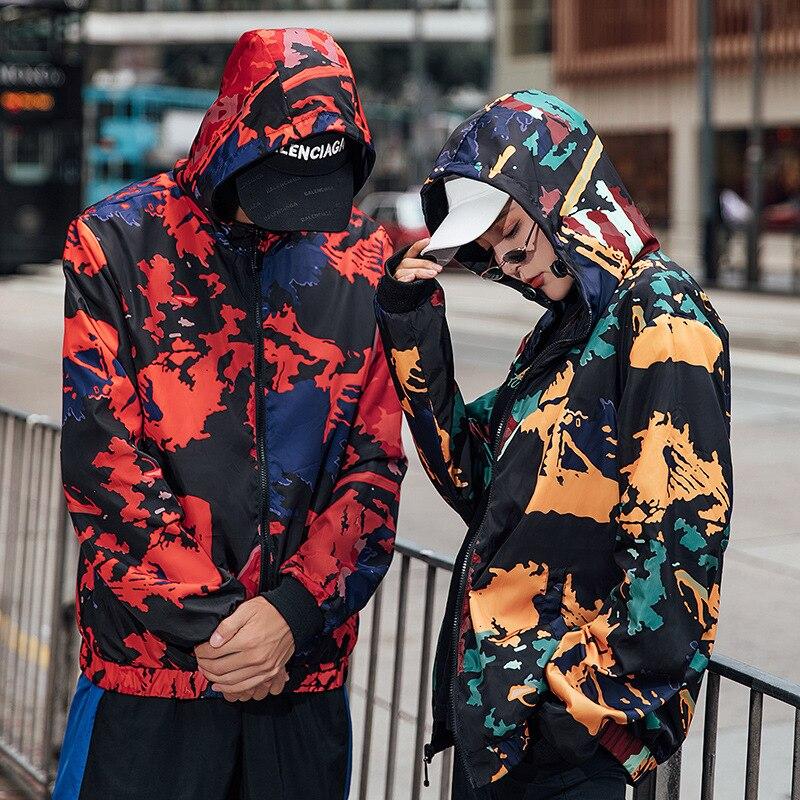 Chaquetas Hombres Abrigo 1 Estudiante Dos Wg172 De Hip Delgada Calle Lados 2019 color Hop Primavera hop Color 2 Tendencia Hip Vestir Chaqueta tnAHBwavq