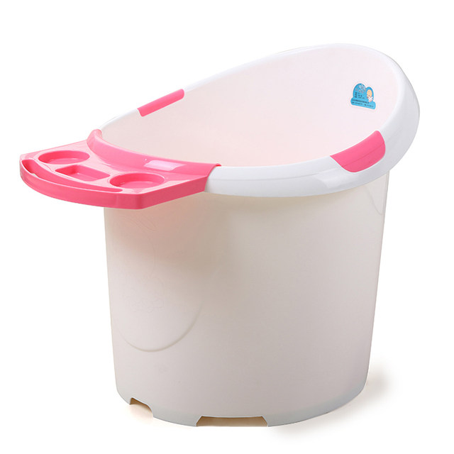Online Shop Super big baby bath tub bath tub children thick ...