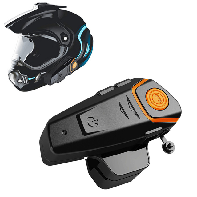 f2d370af866 Motorcycle Bluetooth Headset 3.0 Communicate System With HD Audio Motorbike  Scooter Waterproof Universal Noise Control Earphone