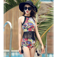2017 New Ladies Bikini Set Swimsuit Sexy High Waist Swimsuit Bikini Summer Style Beach Vacation Party
