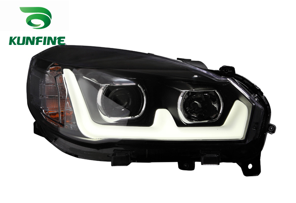 Pair of Car Headlight Assembly For Great Wall M4 12 Tuning Headlight Lamp Parts With Daytime Running light