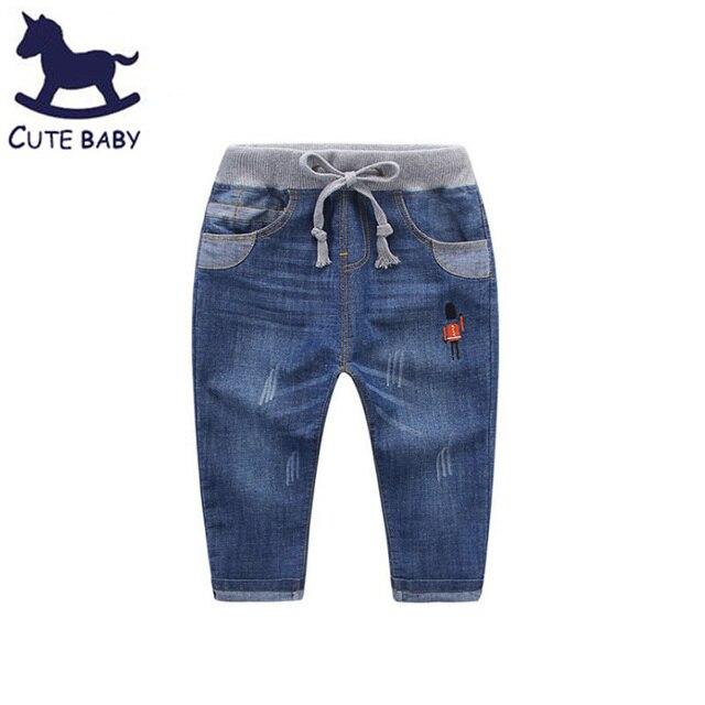 Все для детей Одежда и аксессуары для мальчиков джинсы 6-7-8-9-10year Мальчик Одежда детские джинсы для мальчиков 2-4Y