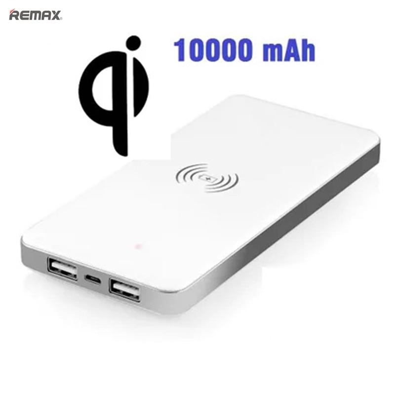 10000 mAh batterie Portable 10000 mah Qi chargeur sans fil batterie externe USB chargeur chargeur Powerbank pour Samsung S6 S7 S8 bord note5 8